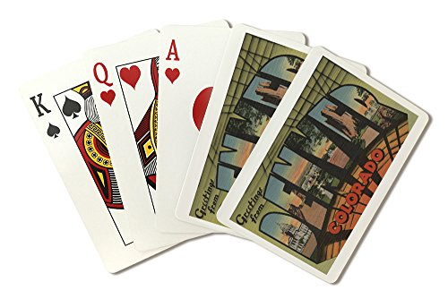 Greetings from Denver, Colorado (Playing Card Deck - 52 Card Poker Size with Jokers)