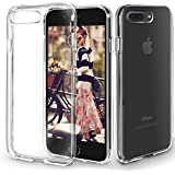 Orzly - FlexiCase for Apple iPhone 7 PLUS - Protective Flexible Silicon Gel Phone Case in 100% TRANSPARENT