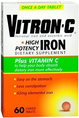 (Vitron-C Coated Tablets 60 Tablets (Pack of)