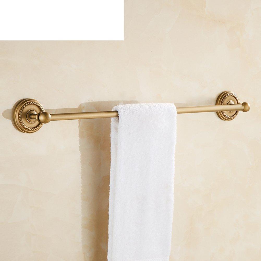 well-wreapped Copper antique towel/European style bath Towel rack/Bathroom Towel Bar/Towel hanging for bathroom-A