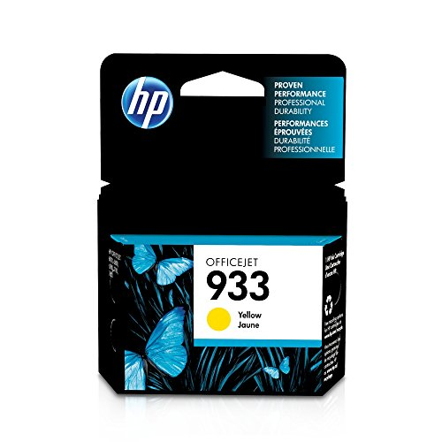 HP 933 Yellow Original Ink Cartridge (CN060AN) for HP Officejet 6100 6600 6700 7110 7510 7610 7612