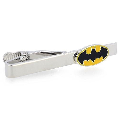 Ss y amarillo Batman negro de corbata: Amazon.es: Joyería
