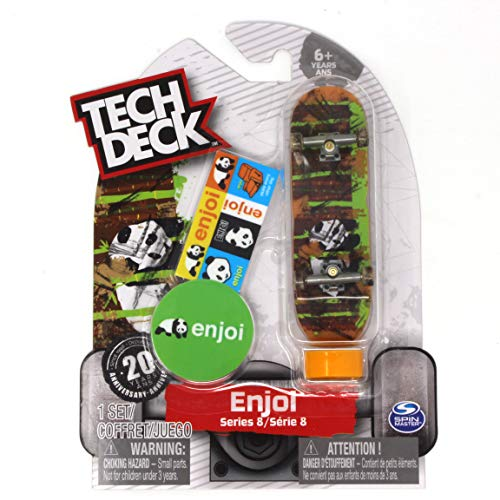 Tech Deck enjoi Skateboards Series 8 Bamboo Poo Panda Finger
