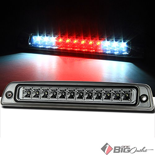 1994-2001 Ram 1500, 1994-2002 2500/3500 Smoked LED 3rd Brake Light LED Stop Cargo Pair L+R 1995 1996 1997 1998 1999
