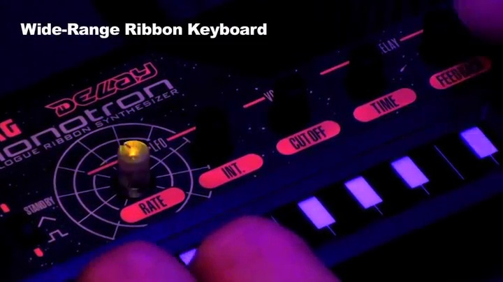 Korg Monotron Delay Analog Ribbon Synthesizer