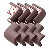 Countertop Edges Baby Proofing Corner Guards and Edge Bumpers (8 Pack) - Best Safety Cushion Protector to Childproof Tables, Beds, Countertop, Furniture