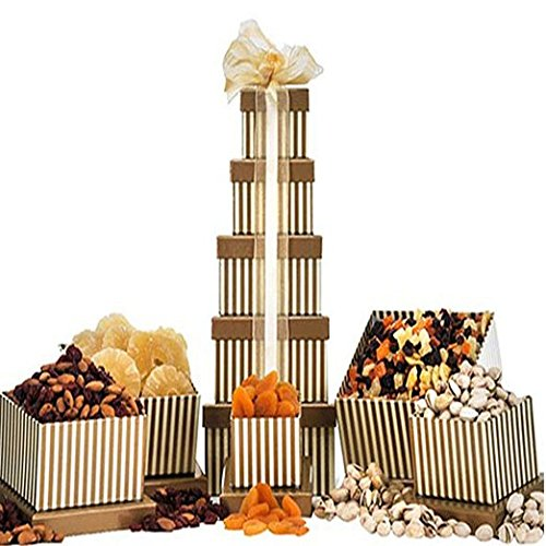 Dried Fruit Nut Tower Gift