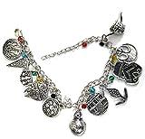 BlingSoul Star War Charm Bracelet - Silver