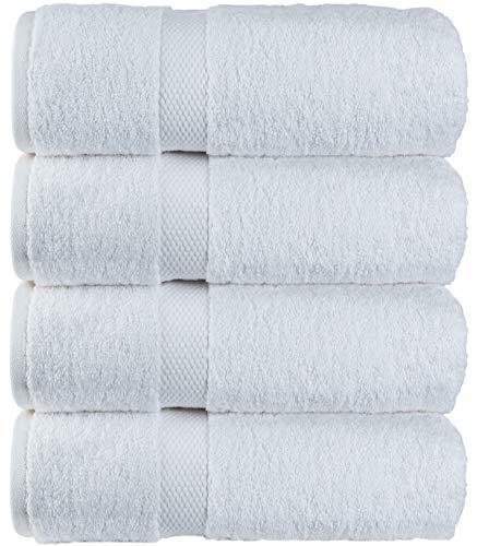 Luxury White Bath Towels