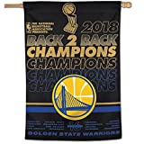 WinCraft Golden State Warriors 2018 NBA Finals Champions House Flag