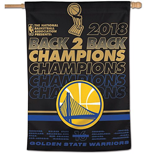 WinCraft Golden State Warriors 2018 NBA Finals Champions House Flag by WinCraft