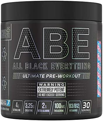 Applied Nutrition ABE - All Black Everything Pre Workout 315g - 30 Servings (Bubblegum Crush)