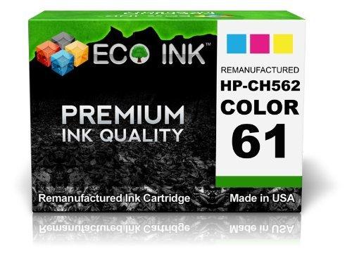 ECO INK © Compatible / Remanufactured for HP 61 CH562WN (1 Color) Ink Cartridges For Deskjet 1000, 2000 - J210a, 2050 - J510d, 3050 - J610a, 1050, 2000 - J210b, 2050 - J510e, 3050 - J610b, 1050 - J410c, 2000 - J210c, 3000, 3050 - J610c, 1050 - J410b, 200