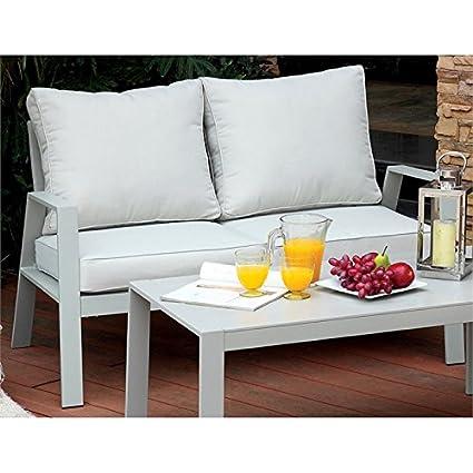 Fantastic Amazon Com Furniture Of America Werner Contemporary Patio Frankydiablos Diy Chair Ideas Frankydiabloscom
