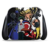 My Hero Academia Nintendo Switch Joy Con Controller Skin - All Might and Deku Vinyl Decal Skin For Your Switch Joy Con Controller