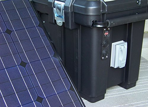 Portable-2500-Watt-200Ah-Solar-Generator-Two-150-Watt-Solar-Panels