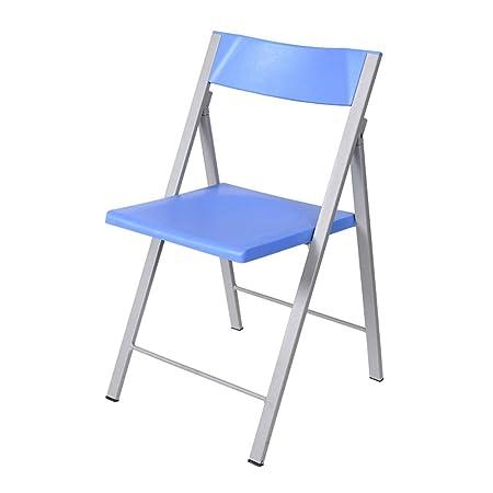 Sedie Di Plastica Pieghevoli.Sedie Pieghevoli Sedia Impilabile Mobile Sedia Ufficio Formazione