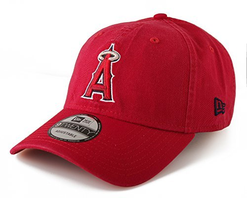 New Era Los Angeles Angels of Anaheim Core Classic 9TWENTY Cap Red