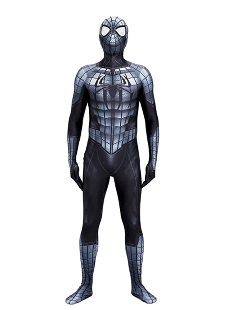 3D Printing Black Armour Spider-Man Halloween Cosplay Spiderman Armour Suit