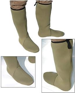 Calcetines de neopreno de 4 mm y de altura hasta la rodilla, verde, todos