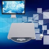 USB External Slot in DVD CD Drive Burner Superdrive for Apple for MacBook Air Pro Convenience for Playing Music Movies