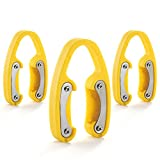 3 Pack Yellow Premium Dual Blade Wine Foil Cutter – Wine Bottle Opener Accessory – Gift for Wine Lovers by YWQ