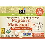 365 Everyday Value Organic Sweet & Salty Microwave Popcorn, 3 Count