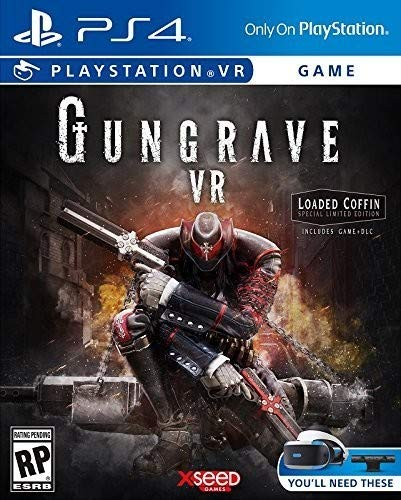 Gungrave VR - loaded Coffin Edition - PlayStation 4
