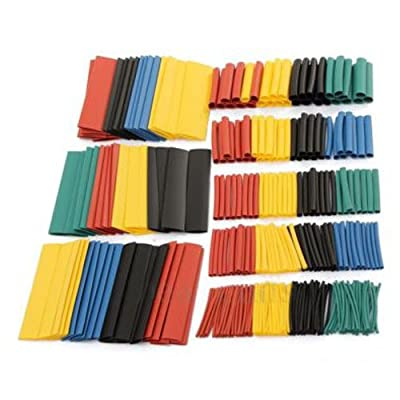 Heat Shrink Tubing - TOOGOO(R) 328Pcs Car Electrical Cable Heat Shrink Tube Tubing Wrap Wire Sleeve Kit