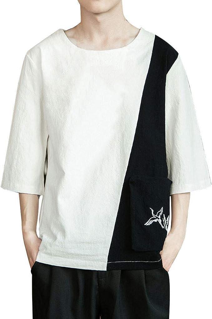 GNYD Camisetas De Hombres Sin Mangas Blancas Polo Verano ...
