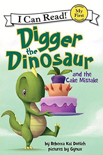 Dinosaur Cake Pops - Digger the Dinosaur and the Cake