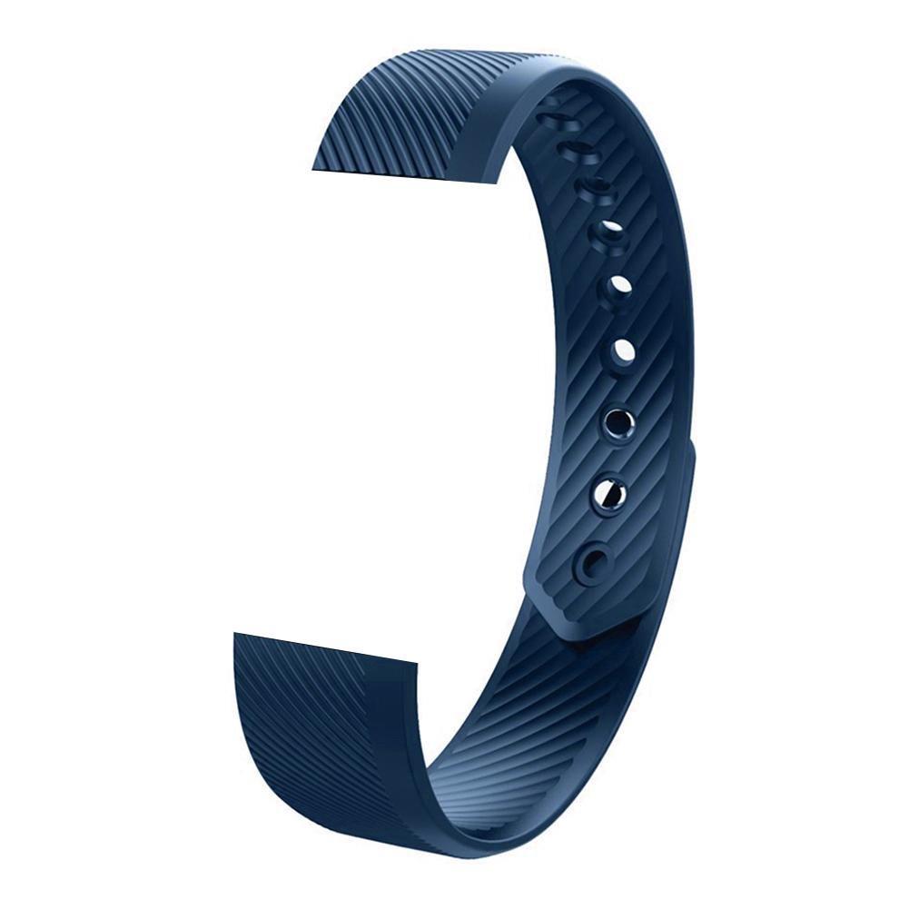 sikiwind交換用時計バンドバンド交換用のアクセサリーid115 /id115hr/id115lite Smart Watch ブルー ブルー B07C185P5P