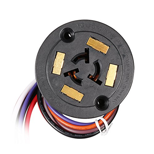 uxcell Photo Light Sensor Switch, IP 65 7 Pin Dimming Control Base for Twist-Lock Photocontrol (Best Timers With Twist Locks)