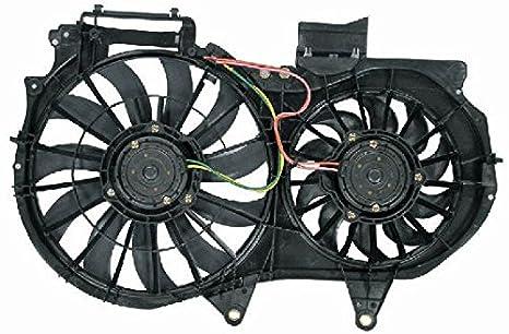 Dual radiador de refrigeración ventilador montaje para 02 - 03 Audi A4 L4 Turbo 1.8L: Amazon.es: Coche y moto