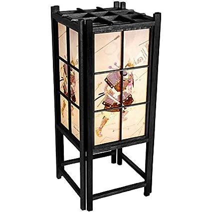Shoji Fai Da Te.Orientale Furniture 18 Samurai Shoji Lamp Black By