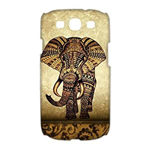 diy zhengDIY Case Cute Vintage Newspaper Elephant Aztec Floral Trunk Hard Plastic Ipod Touch 5 5th Case Back Protecter Cover Case Perfect as Christmas gift(1)
