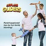 Fun-Choo 2-Pack Airplane Gliders with 2 Flight
