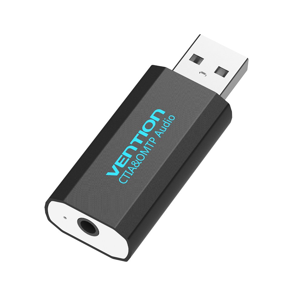 Vention Upgrade - Adaptador USB de 3,5 mm para Tarjeta de ...