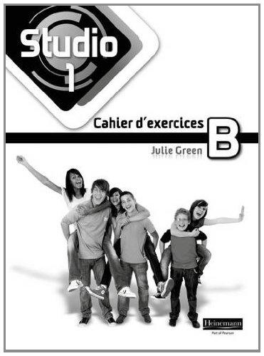 Studio 1 Workbook B Pack Of 8 11 14 French Amazon Co Uk Green Julie 9780435027834 Books