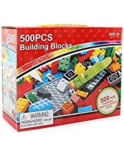 500pcs building blocks small particles compatible puzzle assembling scene children DIY toy gifts kids toys