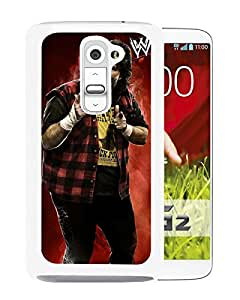 Wwe Superstars Collection Wwe 2k15 Mick Foley Template White Fashionable Design LG G2 Plastic Case