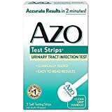 AZO Urinary Tract Infection Test Strips, 3 Strips Per Pack (11 Pack)