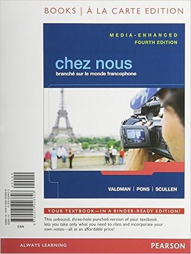Amazon.com: Chez nous: Branché sur le monde francophone, Media