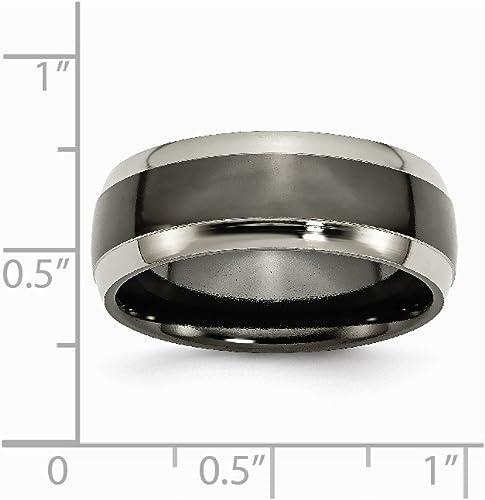 FB Jewels Solid Titanium 4mm Polished Wedding Band