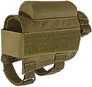 New Tactical Gun Rifle Buttstock Cheek Rest Riser Cartridges Carrier Case Holder YUEWO
