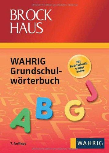 Brockhaus WAHRIG - Grundschulwörterbuch