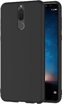 Aicek Funda Huawei Mate 10 Lite Negro Silicona Fundas Para Huawei Mate 10 Lite Carcasa Mate 10 Lite Negro Silicona Funda Case 5 9 Pulgadas Amazon Es Electrónica