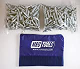 400 3/32 Cleco Sheet Metal Fasteners w/ Mesh Carry Bag (K2S400-3/32)