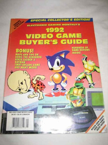 Electronic Gaming Monthlys 1992 Video Game Buyers Guide ...