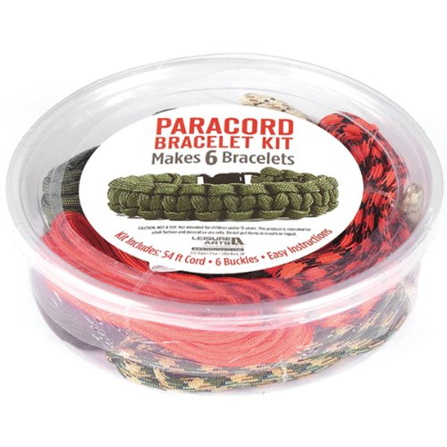 Leisure Arts Paracord Kit, Boy